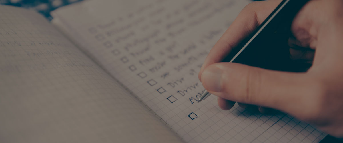 Maintain a Checklist for Restaurant Delivery Service Software