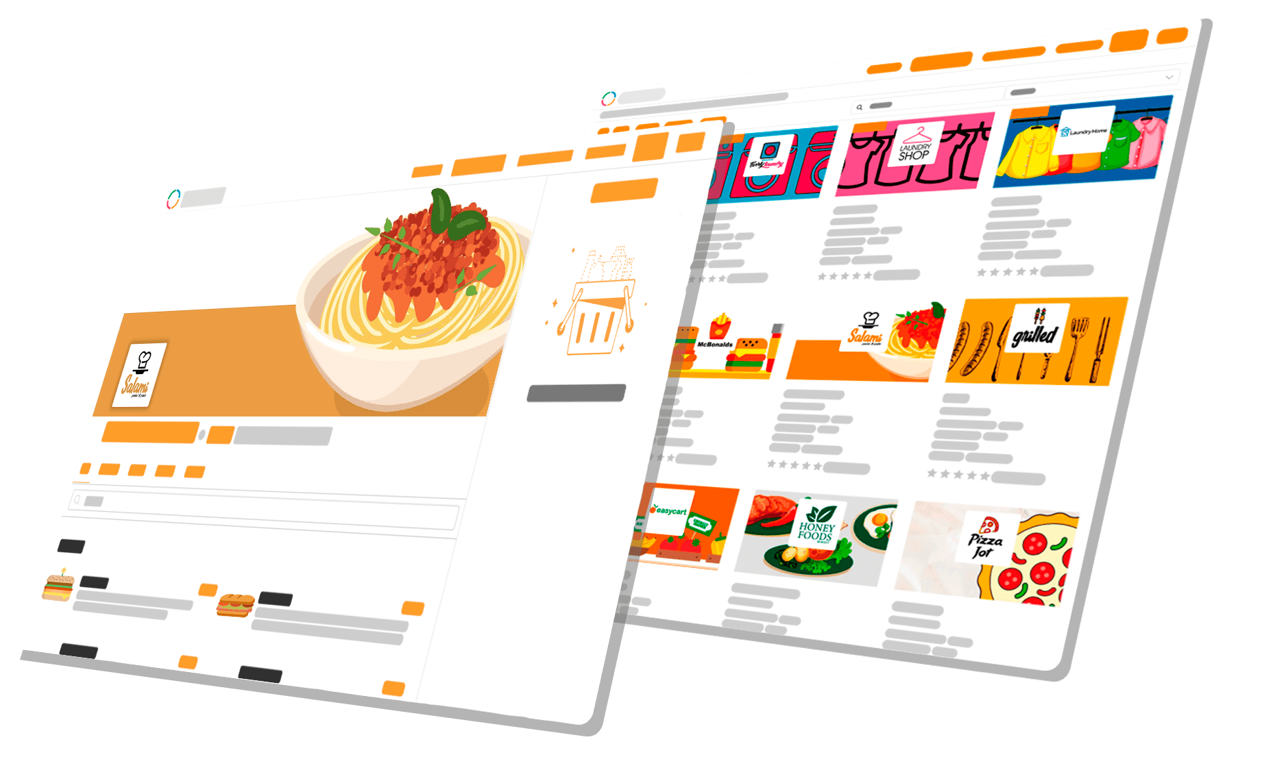 Ordering Online System on-demand ordering and delivery