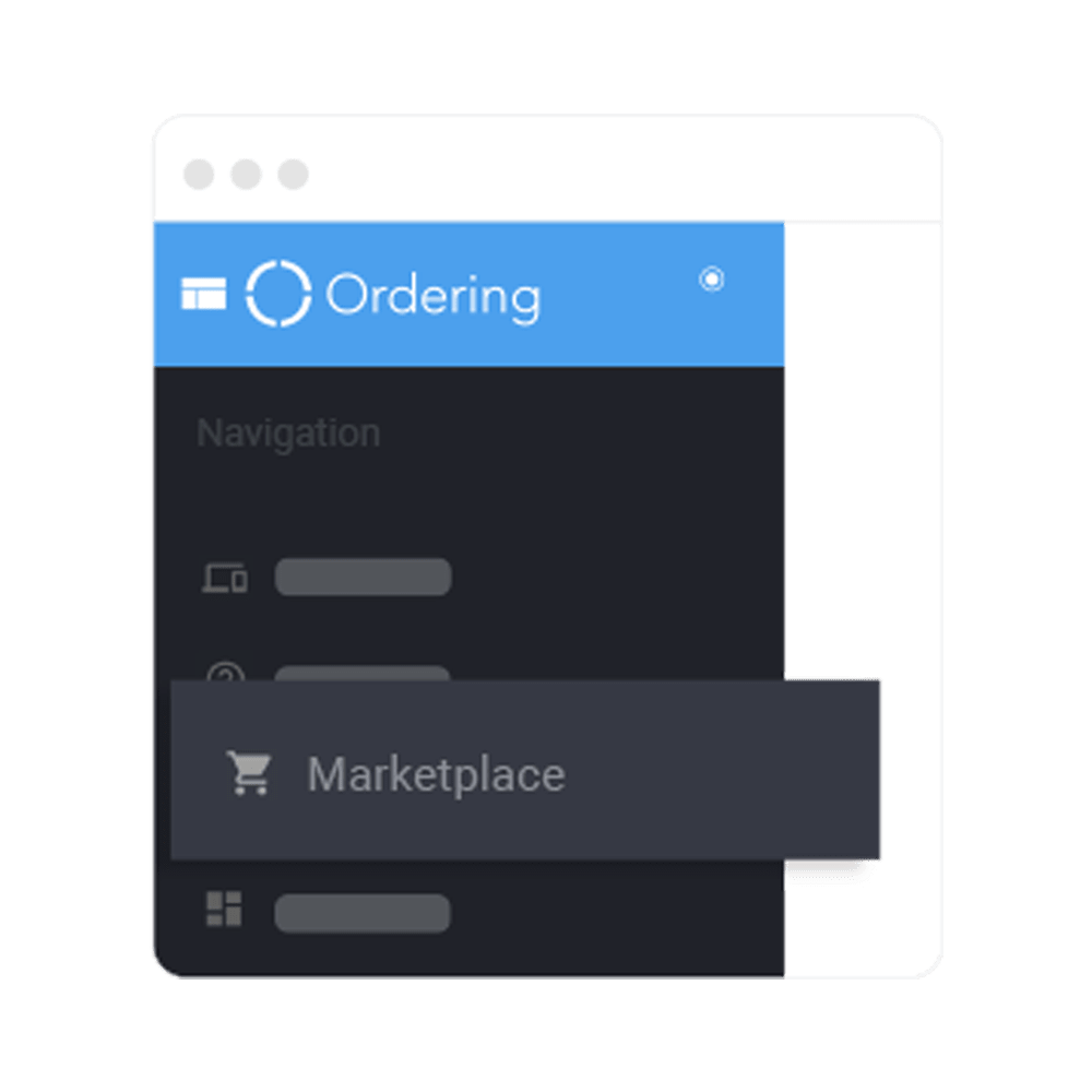 Ordering Builder - Marketplace