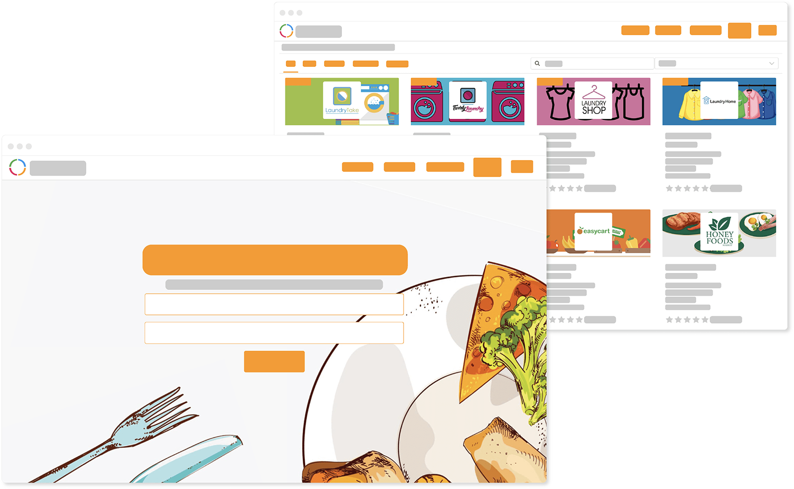 Ordering Website Ordering Online System The Website With Your Brand