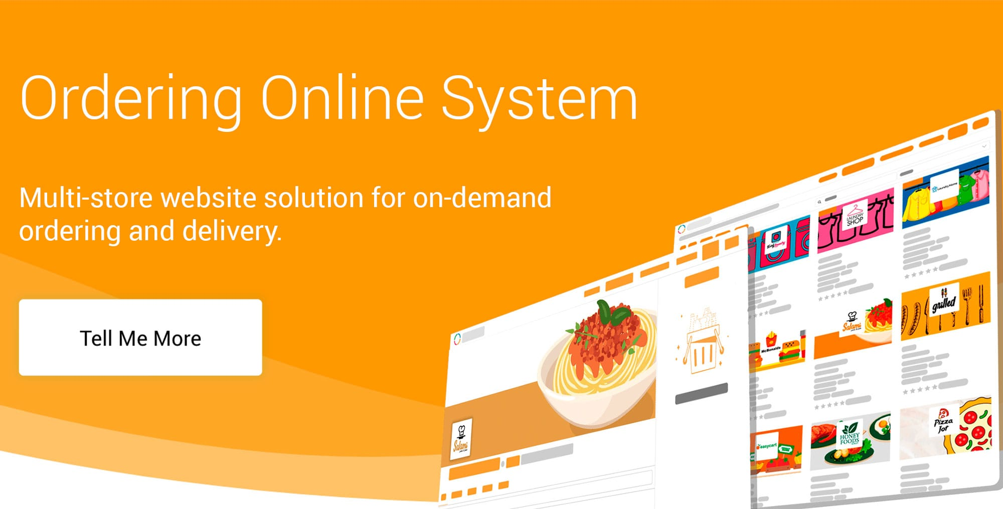 Online Ordering System - E-commerce solution for on-demand
