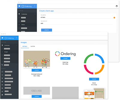 Ordering Builder - Images & Color Customization